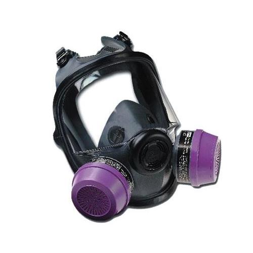 霍尼韦尔诺斯54001 双滤盒全面罩防毒面具