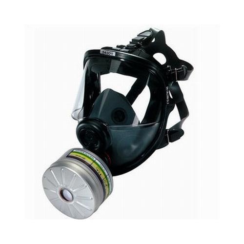巴固54301硅胶全面罩防毒面具