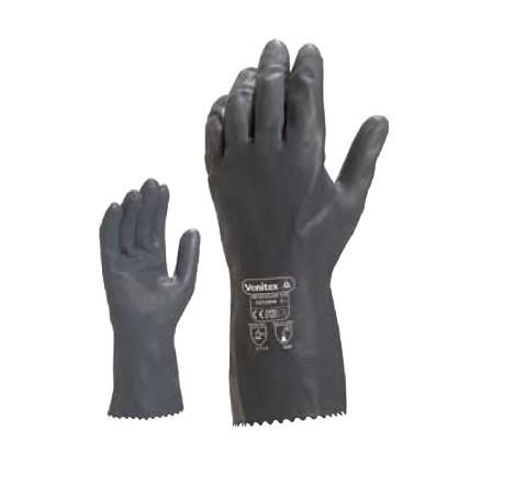 代尔塔201530 氯丁乳胶橡胶高性能防化手套
