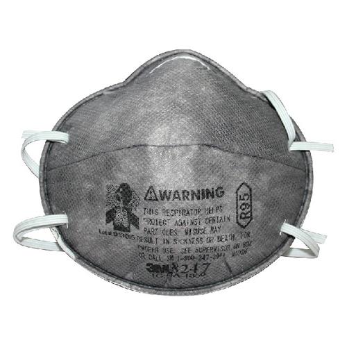 3M8247R95有机蒸气异味及颗粒物防护口罩
