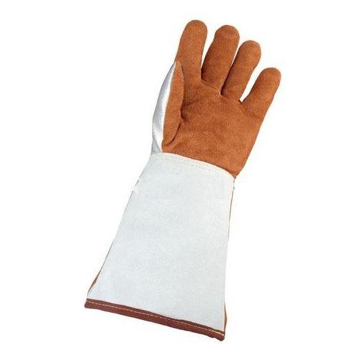 巴固 2058698 镀铝皮革焊接隔热手套 右手