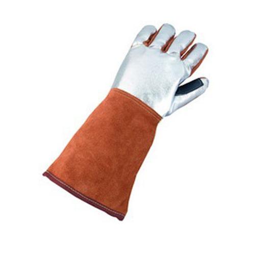 巴固 2058699 镀铝皮革焊接隔热手套 左手