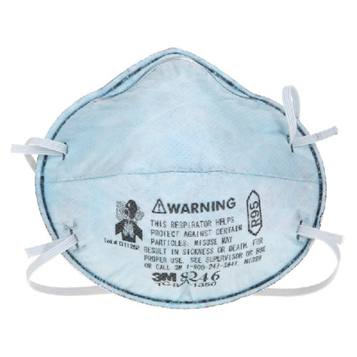 3M8246R95酸性气体异味及颗粒物防护口罩