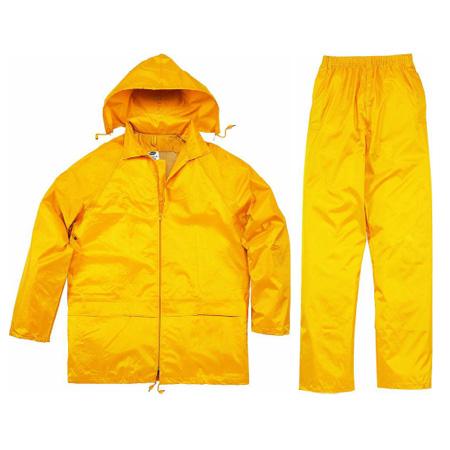 代尔塔407003涤纶分体雨衣