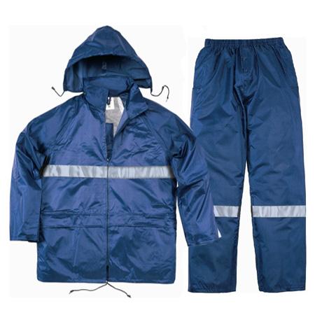 代尔塔407004涤纶分体雨衣