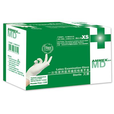爱马斯TLFCMDSi一次性橡胶灭菌医用手套