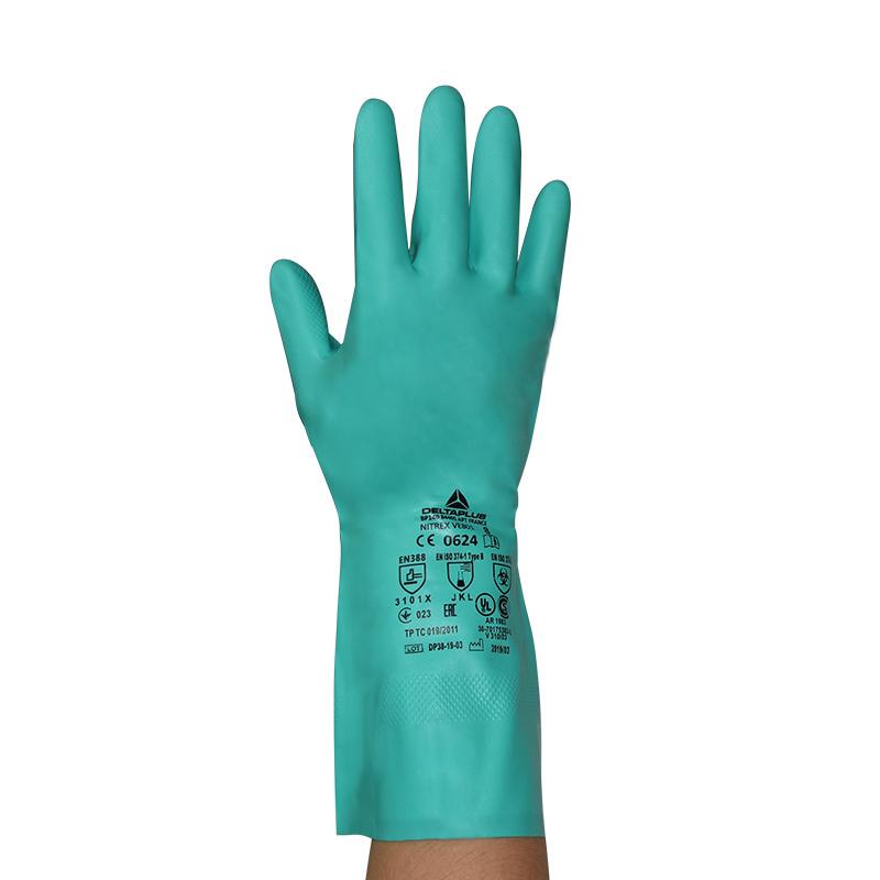 代尔塔201801丁腈橡胶手套