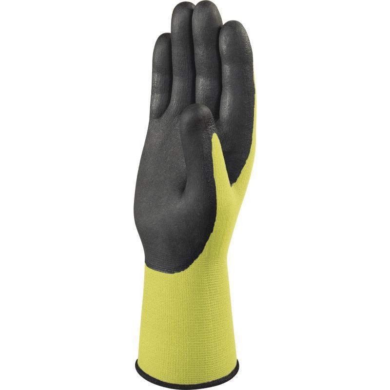 代尔塔201734丁腈荧光涂层手套