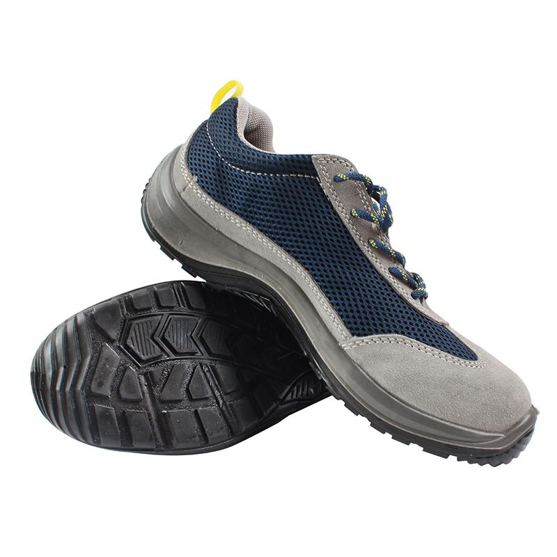 代尔塔301219耐油防砸防刺穿安全鞋