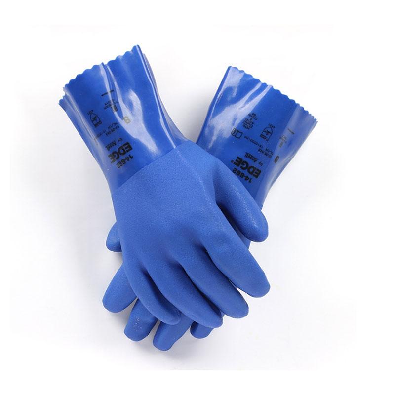 安思尔14-666防化PVC手套