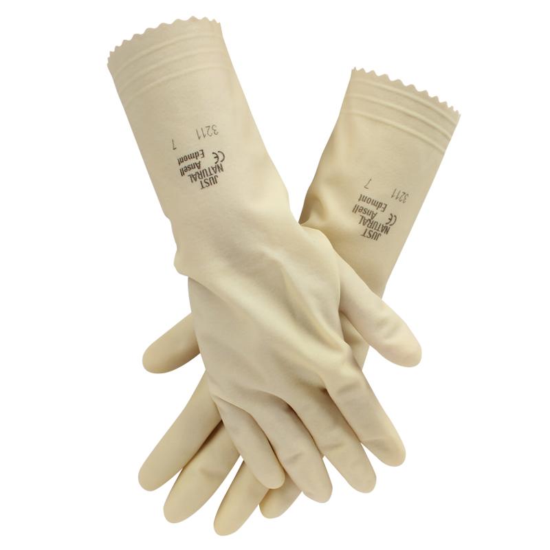安思尔3215-9天然橡胶手套