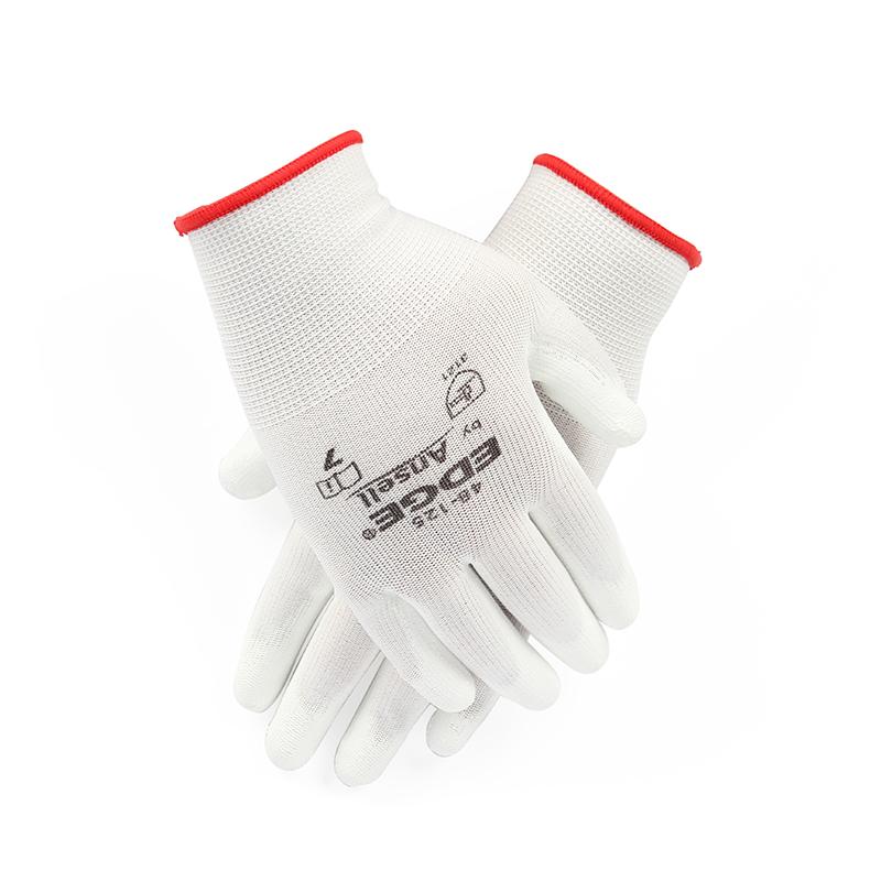 安思尔48125白色劳保手套