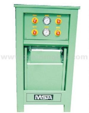 梅思安3585020G两工位防爆充气箱(带调压功能)