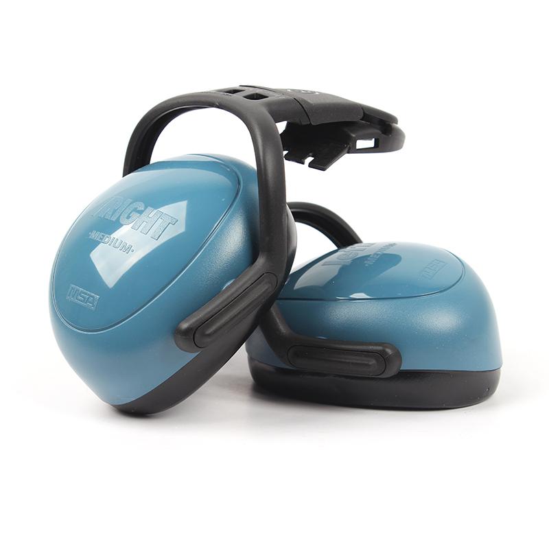 梅思安10087429左/右系列中衰减头盔式防噪音耳罩