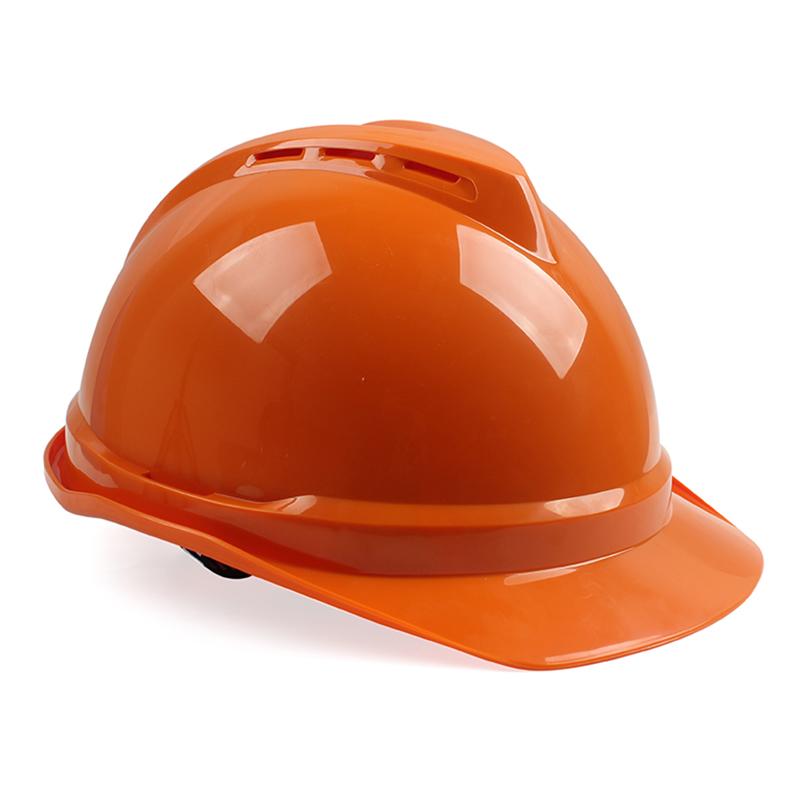 梅思安10146673橙色豪华ABS安全帽
