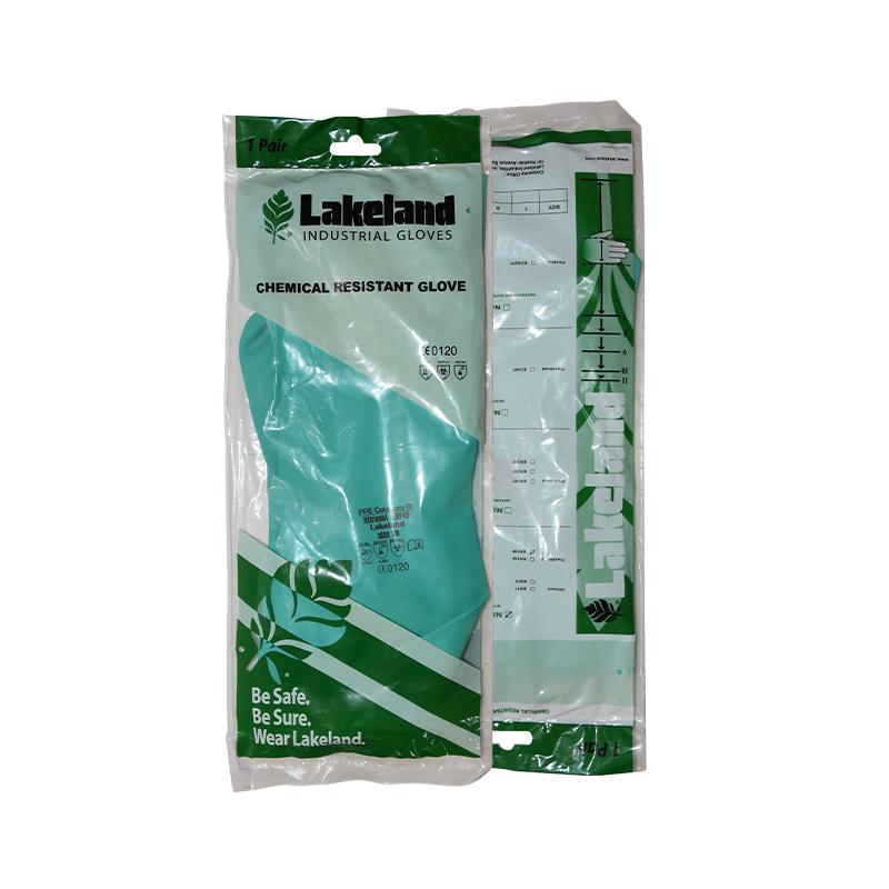 雷克兰EN22L丁腈橡胶防化手套
