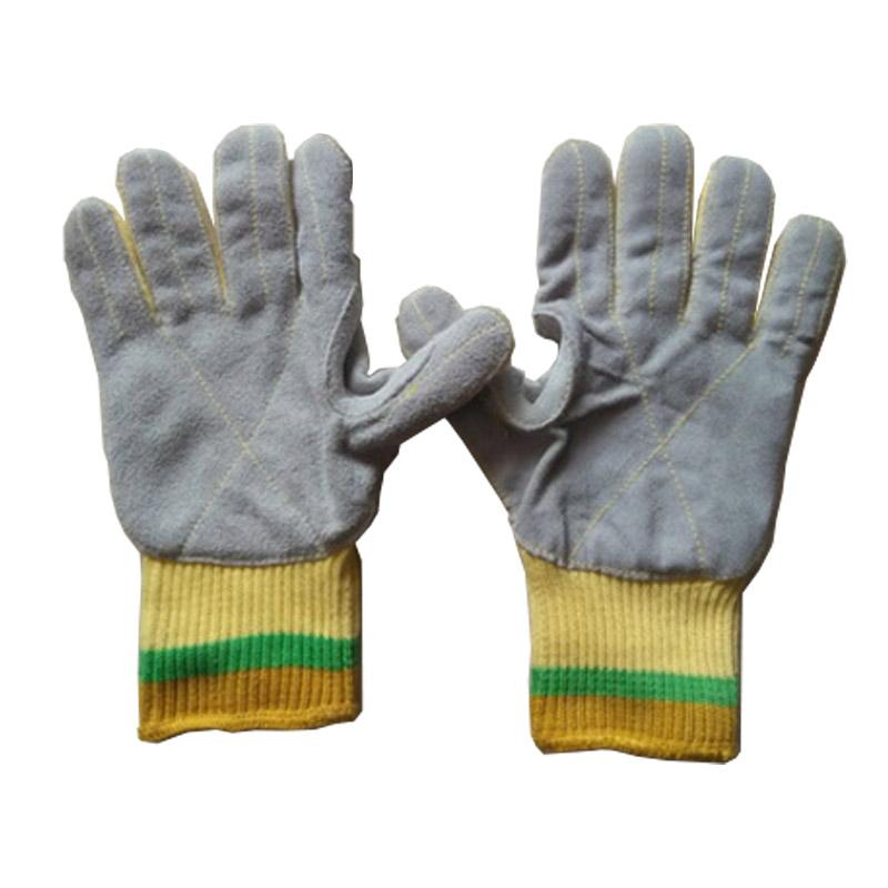 杜邦KK1041贴皮五级防割手套