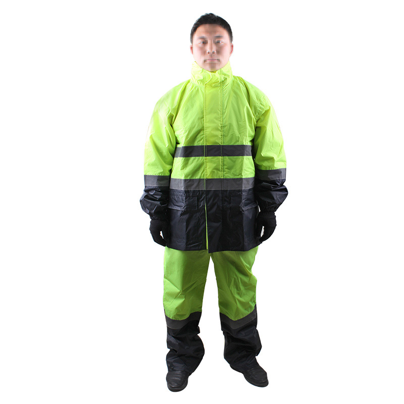 3M R2912荧光黄PVC防水安全警示服