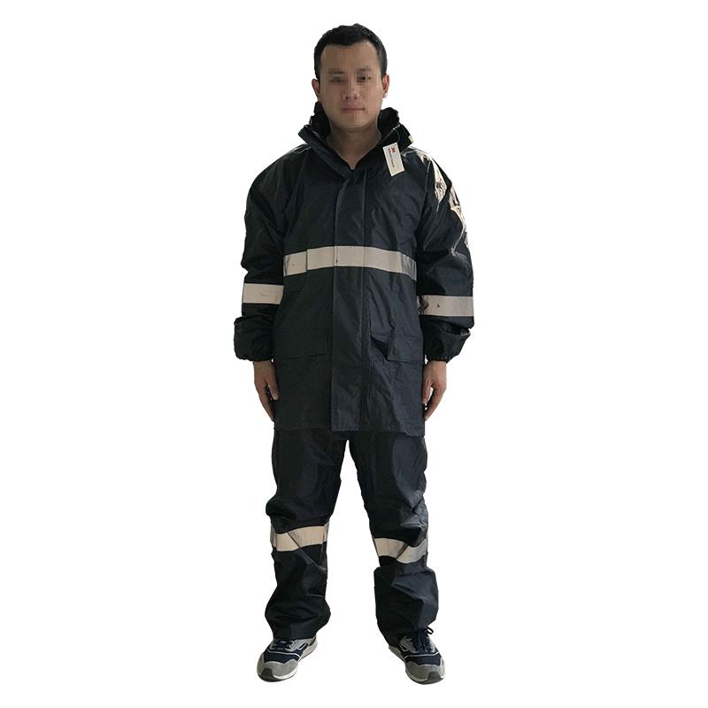 3M R2911藏青色PVC防水安全警示服