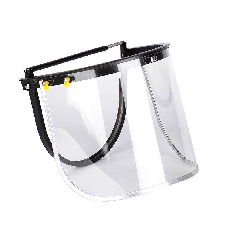 定和全铝支架防冲击PVC防护面屏