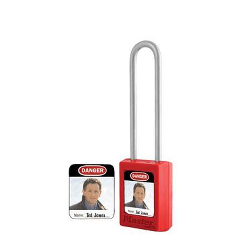 玛斯特锁S142挂锁标签