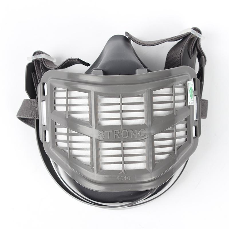 思创ST-1010C型橡胶半面罩防尘面具