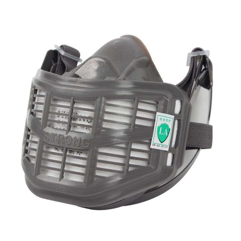 思创ST-1010B型硅胶半面罩防尘面具