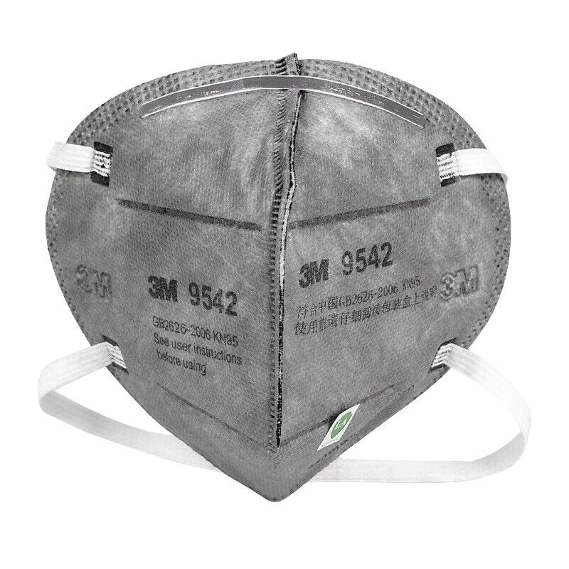 3M9542活性炭KN95防毒口罩