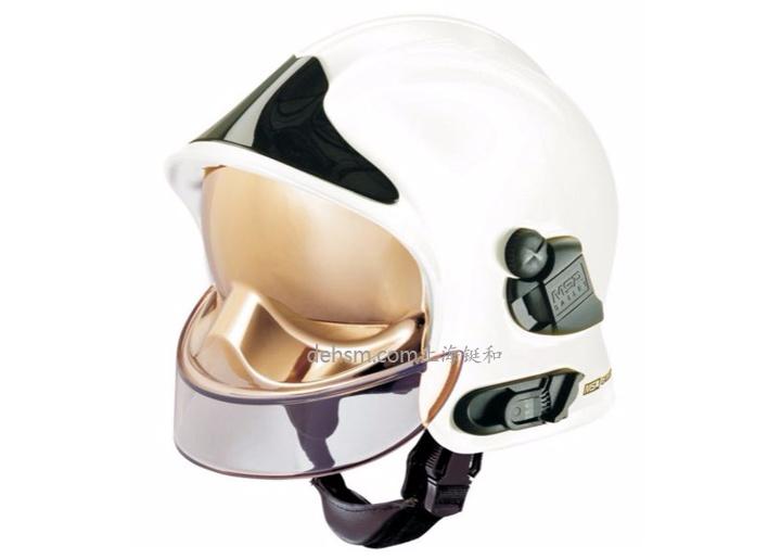 梅思安F1消防头盔图片白色款