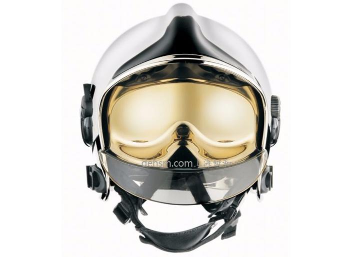 梅思安F1消防头盔图片红色款正面