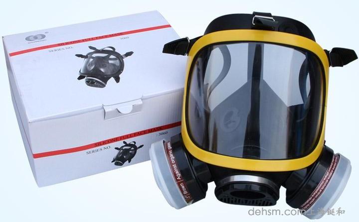 DH20154全面罩防毒面具包装图