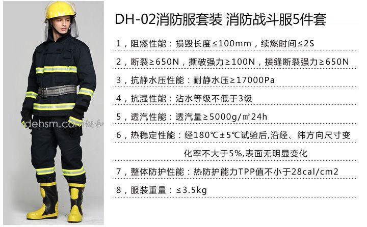 DH-02消防服套装图片