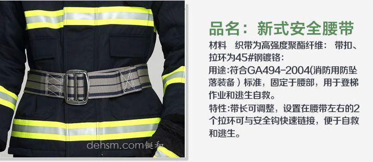 DH-02消防服套装之安全腰带图片