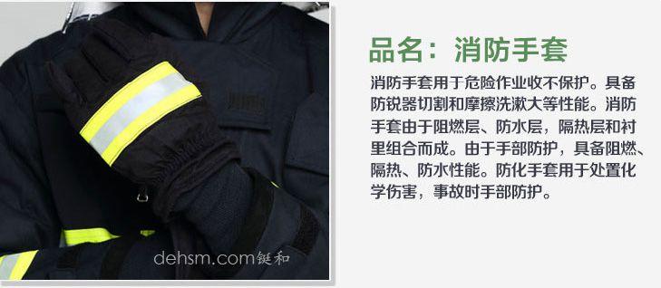 DH-02消防服套装之消防手套图片