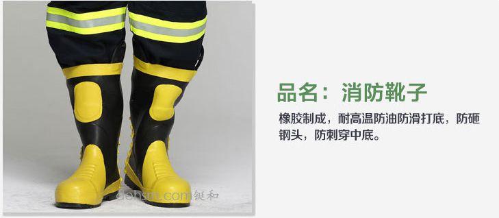 DH-02消防服套装之消防靴图片