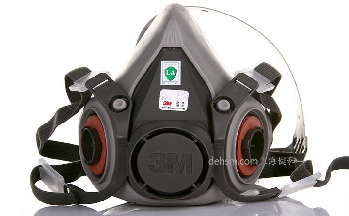 3m6200防毒半面罩袋装图