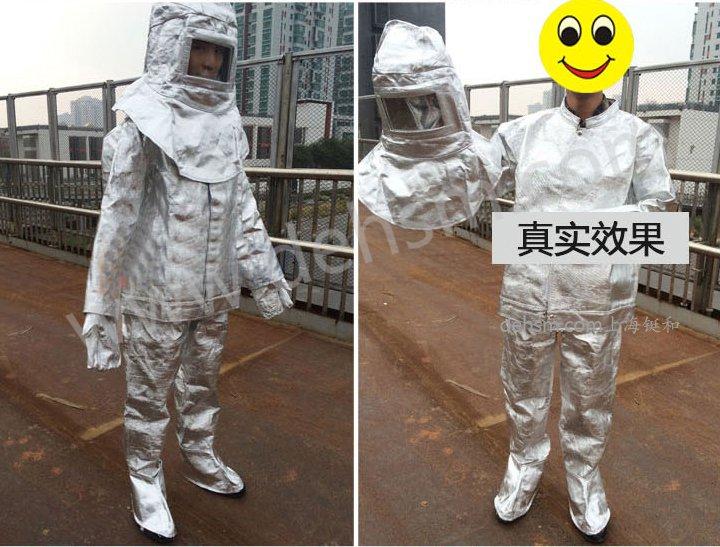DH-R11高温隔热服穿戴方法及图片