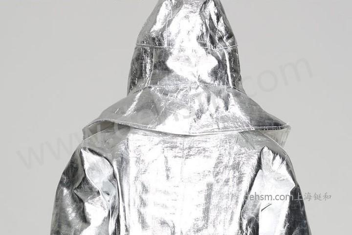 DH-R11高温隔热服实物图片-反面1