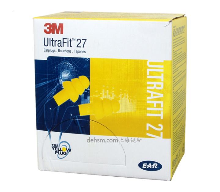3M340-8002硅胶带线防噪音耳塞包装盒图