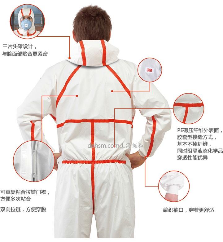 3M4565医用防护服产品特点分析