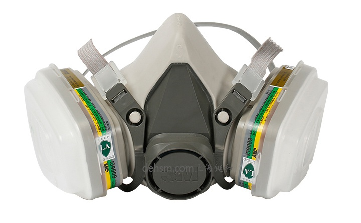 3M6200+6006防多种气体防毒面具图片-正面