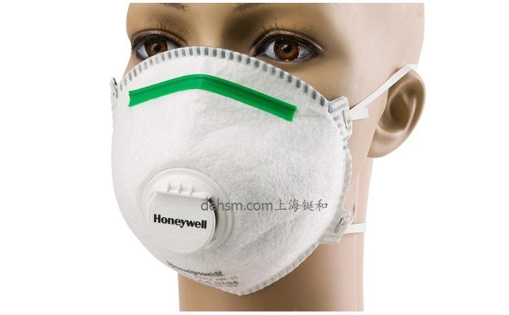 霍尼韦尔5211ffp2防尘口罩佩戴示意图