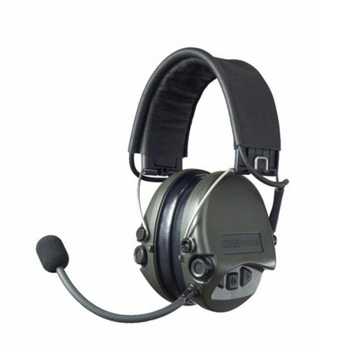 MSA梅思安SOR75301电子防噪音耳罩图1