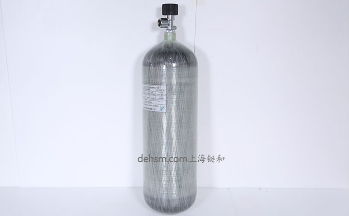 9L空气呼吸器复合碳纤气瓶图片-整体图