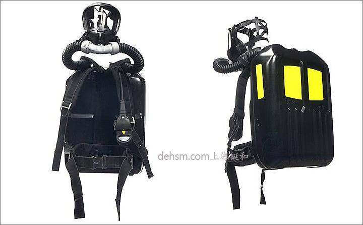 德尔格PSS BG4氧气呼吸器图片-侧面