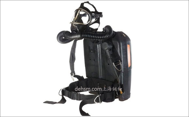 德尔格BG4 V氧气呼吸器图片-侧面