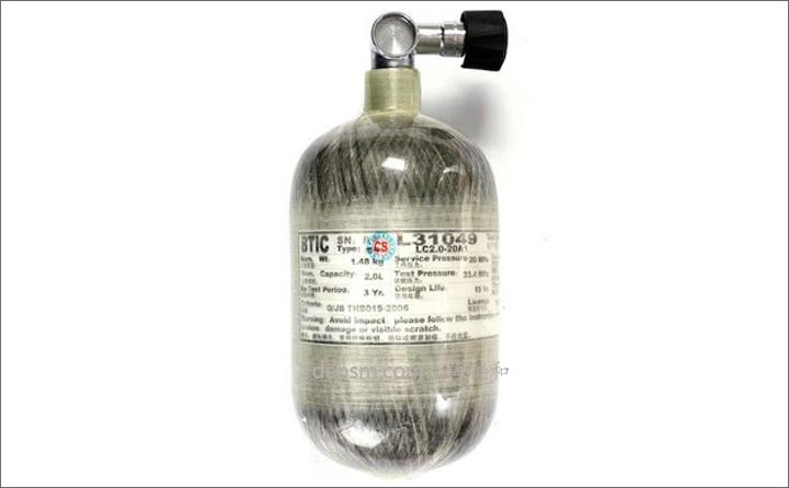 德尔格BG4 V氧气呼吸器气瓶图片
