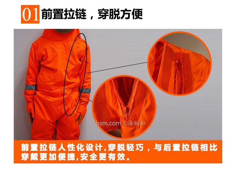 DH1030风扇型防蜂服前置拉链,穿脱方便