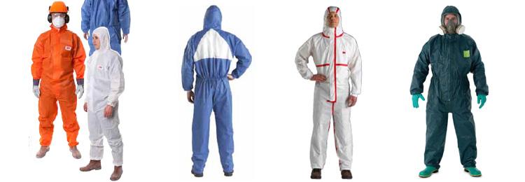 3m防护服根据具体工作环境的要求,共研发出三种不同防护等级的防化