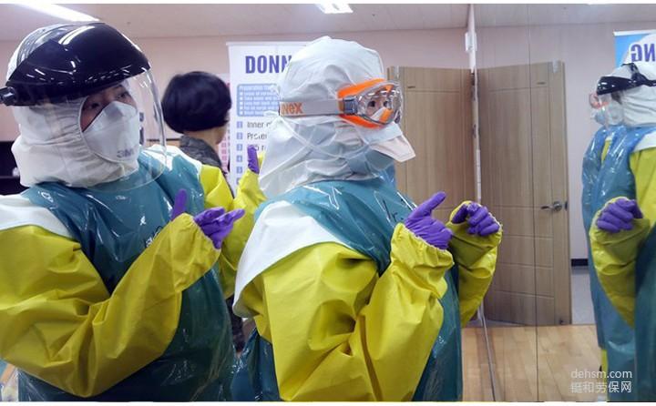 穿医用防护服研究传染疾病疫苗